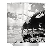 Chicago's Cloud Gate Shower Curtain