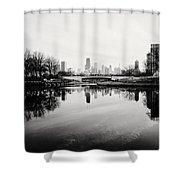 Chicago's North Pond Shower Curtain