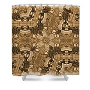 Chick Here - Chick There  Everywhere A Chick Chick 2 Shower Curtain