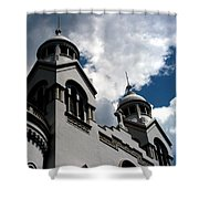 Chiesa Valdese Shower Curtain