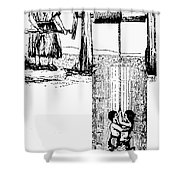 Child Labor, 1842 Shower Curtain