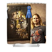 Child Of The Forest - 1st Place. Shower Curtain