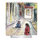 Children In Nicosia Shower Curtain