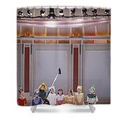 Children On Stage Shower Curtain