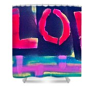 Children's Love Shower Curtain