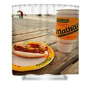 Chilli Dawg Shower Curtain