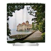 Chillon Castle Shower Curtain