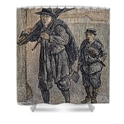 Chimney Sweeps Shower Curtain