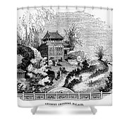 China: Imperial Palace Shower Curtain
