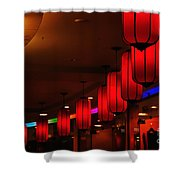 Chinatown - Colorful Shopping Mall Shower Curtain
