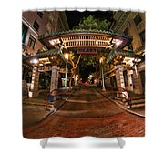 Chinatown Entrance Shower Curtain