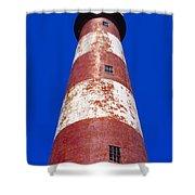 Chincoteague Lighthouse Shower Curtain