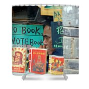 Chinese Bookstore Shower Curtain