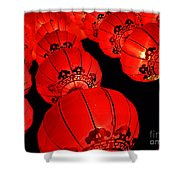 Chinese Lanterns 3 Shower Curtain
