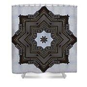 Chinese Star Shower Curtain