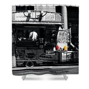 Chip Wagon Shower Curtain