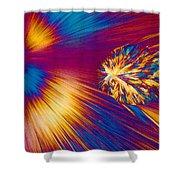 Cholesterol Crystal Shower Curtain
