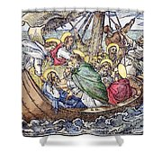 Christ And Apostles Shower Curtain