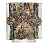 Christ And David Shower Curtain