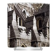 Christ Church Cathedral, Dublin City Shower Curtain