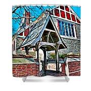 Christ Church Of St Michaels Shower Curtain
