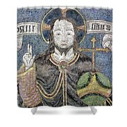 Christ In Majesty Shower Curtain