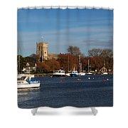 Christchurch Shower Curtain
