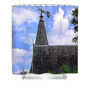Christian Church Shower Curtain