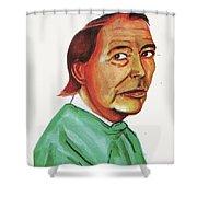 Christiann Barnard Shower Curtain