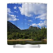 Christina Lake - North End Of The Lake Shower Curtain