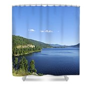 Christina Lake Shower Curtain