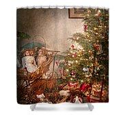 Christmas - My First Christmas  Shower Curtain