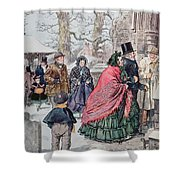 Christmas At Dreamthorpe Shower Curtain