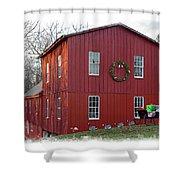 Christmas Eve At Williston Mill Shower Curtain