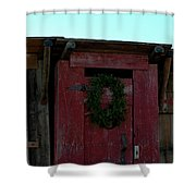 Christmas Out House The Perfect Gift For Those On The Go Shower Curtain