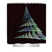 Christmas Trees Shower Curtain