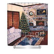 Christmastime Shower Curtain
