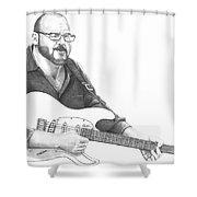 Christopher Murphy Elliott Shower Curtain