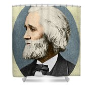 Christopher Sholes, American Inventor Shower Curtain