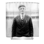 Christy Mathewson - Major League Baseball Player Shower Curtain