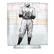 Christy Mathewson Shower Curtain