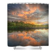 Chromalite Echo 4.0 Shower Curtain