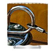 Chrome Lock Shower Curtain