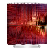 Chromosome 13 Shower Curtain