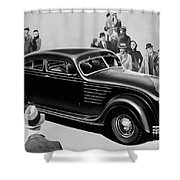 Chrysler Airflow Shower Curtain