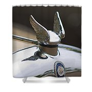 Chrysler Hood Ornament 2 Shower Curtain