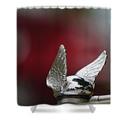 Chrysler Hood Ornament Shower Curtain