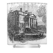 Ch�teau Margaux, 1867 Shower Curtain by Granger