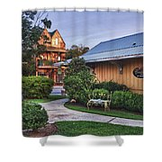 Church And Delemar Shower Curtain