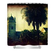 Church At Fort Moultrie Near Charleston Sc Shower Curtain